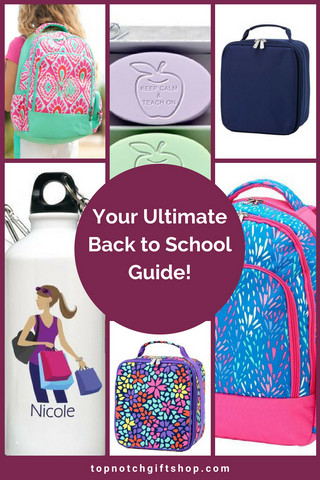 Get Ready for Back to School With Top Notch Gift Shop