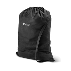 Black Personalized Laundry Bag Top Notch Gift Shop