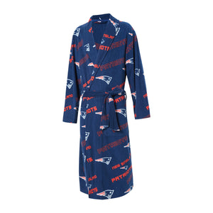 New England Patriots Keystone Microfleece Bathrobe-Bathrobe-Concepts Sport-Top Notch Gift Shop