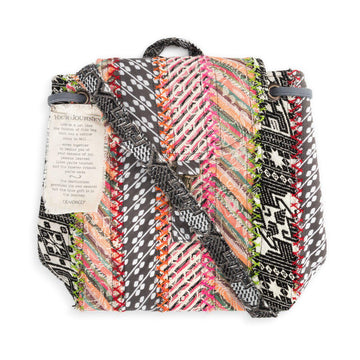 Your Journey Multicolor Backpack - Travel Accessory