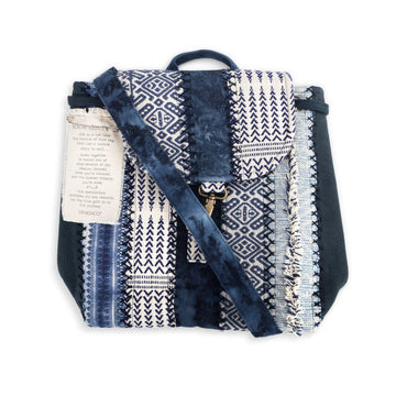 Your Journey Indigo Backpack - Travel Accessory