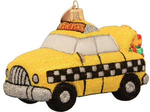 New York Taxicab Christmas Ornament-Ornament-Landmark Creations-Top Notch Gift Shop