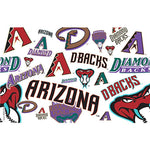 Arizona Diamondbacks All Over Tervis Tumbler with Lid - (Set of 2)-Tumbler-Tervis-Top Notch Gift Shop