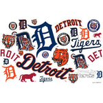 Detroit Tigers All Over Stainless Steel Tumbler With Lid-Tumbler-Tervis-Top Notch Gift Shop