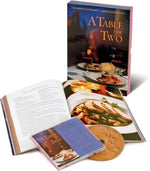 A Table for Two: Gourmet Cookbook with Music-Book-Menus and Music-Top Notch Gift Shop