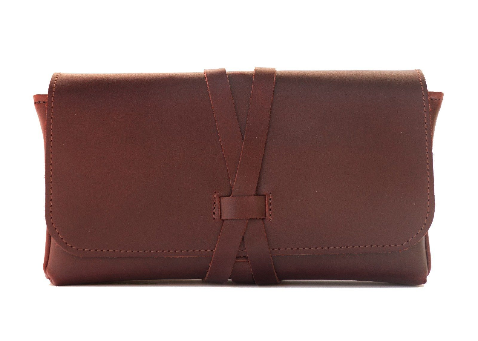 "Cognac Brown Leather ""Bar 2 Go""-Bar Tool-The Bar2Go-Top Notch Gift Shop"