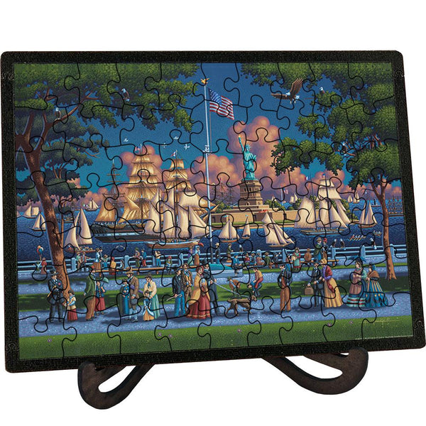 Statue of Liberty - Picture Perfect Puzzle™-Puzzle-Dowdle Folk Art-Top Notch Gift Shop