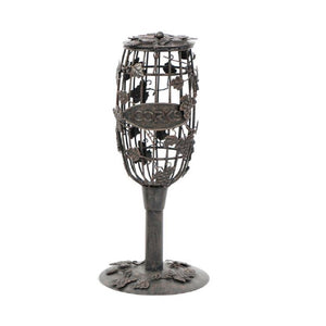 Metal Cork Holder - Wine Flute-Cork Cage-DEI-Top Notch Gift Shop