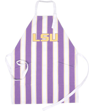 LSU Tigers Tailgate and BBQ Apron-Apron-Desden-Top Notch Gift Shop
