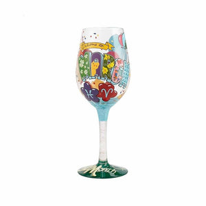March Birthday Wine Glass by Lolita®-Wine Glass-Designs by Lolita® (Enesco)-Top Notch Gift Shop