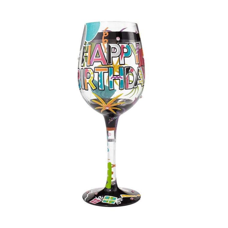 Another Birthday Wine Glass by Lolita®-Designs by Lolita® (Enesco)-Top Notch Gift Shop