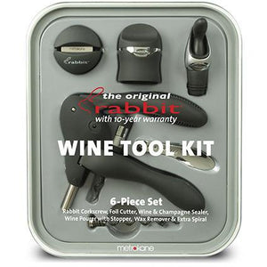 6 Piece Metrokane Rabbit Wine Tool Kit-Bar Tool-Metrokane-Top Notch Gift Shop
