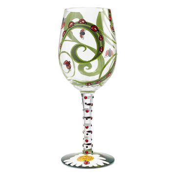 Ladybug Wine Glass by Lolita®