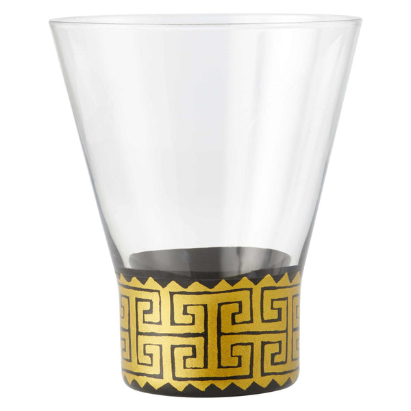 Keyed Up Highball Glass by Lolita-Highball Glasses-Designs by Lolita® (Enesco)-Top Notch Gift Shop