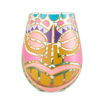 Tiki, Too Stemless Wine Glass by Lolita®