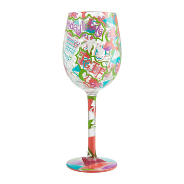 Feel Good Friday Wine Glass by Lolita®