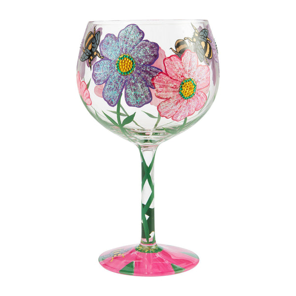 My Drinking Garden Copa Glass by Lolita®-Copa Glass-Designs by Lolita® (Enesco)-Top Notch Gift Shop