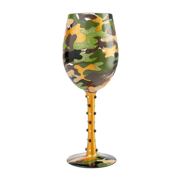 Camo Wine Glass by Lolita®