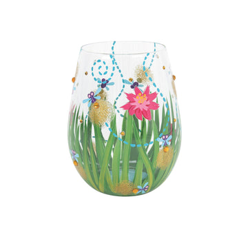 Firefly Stemless Wine Glass by Lolita®