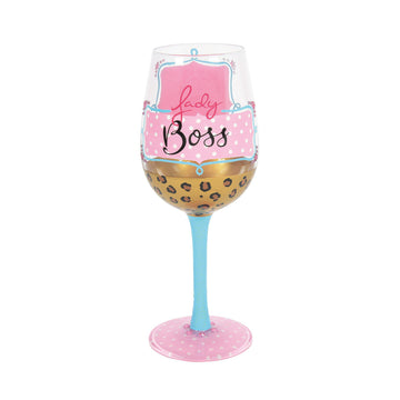 Lady Boss Wine Glass by Lolita®