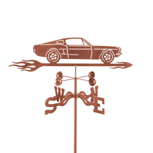 67 Mustang Weathervane-Weathervane-EZ Vane-Top Notch Gift Shop