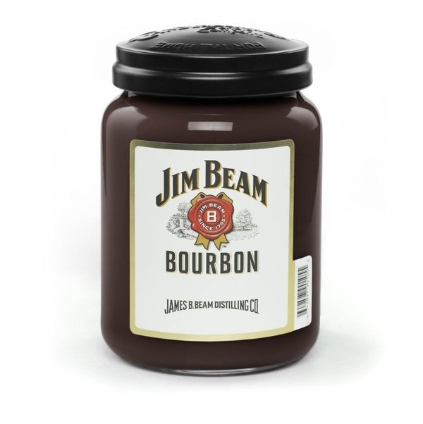 Jim Beam Kentucky Bourbon® Scented Candle, 26 oz. Jar-Candle-Candleberry-Top Notch Gift Shop