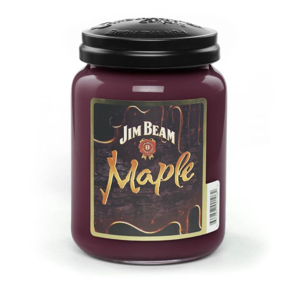Jim Beam Maple® Scented Candle, 26 oz. Jar-Candle-Candleberry-Top Notch Gift Shop