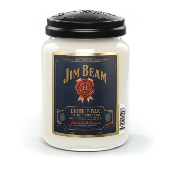 Jim Beam Double Oak® Scented Candle, 26 oz. Jar-Candle-Candleberry-Top Notch Gift Shop