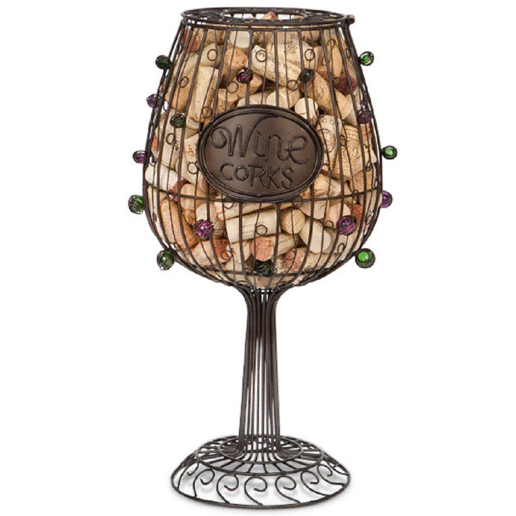 Giant Wine Glass Cork Cage Top Notch Gift Shop