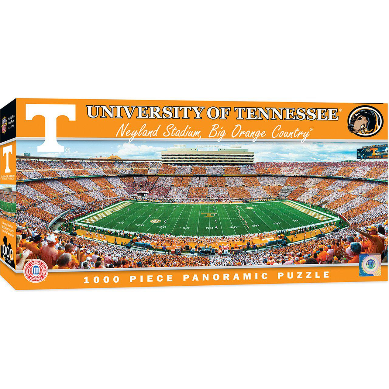 Tennessee Volunteers 1000 Piece Panoramic Stadium Jigsaw Puzzle-Puzzle-MasterPieces Puzzle Company-Top Notch Gift Shop