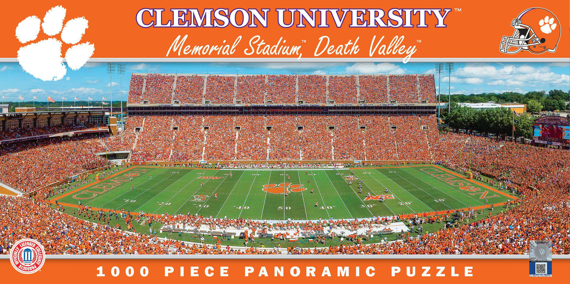 Clemson Tigers Memorial Stadium 1000 Piece Jigsaw Puzzle-Puzzle-MasterPieces Puzzle Company-Top Notch Gift Shop