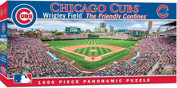 Chicago Cubs Wrigley Field 1,000 Piece Panoramic Puzzle