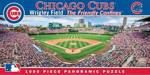 Chicago Cubs Wrigley Field 1,000 Piece Panoramic Puzzle-Puzzle-MasterPieces Puzzle Company-Top Notch Gift Shop