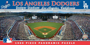 Los Angeles Dodgers 1,000 Piece Panoramic Puzzle-Puzzle-MasterPieces Puzzle Company-Top Notch Gift Shop