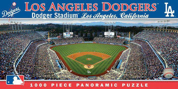 Los Angeles Dodgers 1,000 Piece Panoramic Puzzle