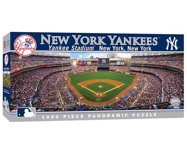 New York Yankees 1,000 Piece Panoramic Puzzle-Puzzle-MasterPieces Puzzle Company-Top Notch Gift Shop