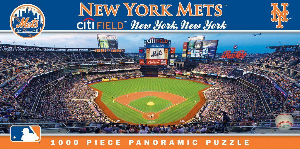 New York Mets 1,000 Piece Panoramic Puzzle-Puzzle-MasterPieces Puzzle Company-Top Notch Gift Shop