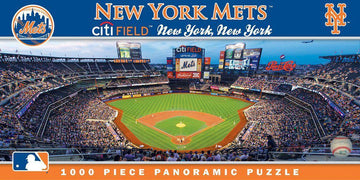 New York Mets 1,000 Piece Panoramic Puzzle