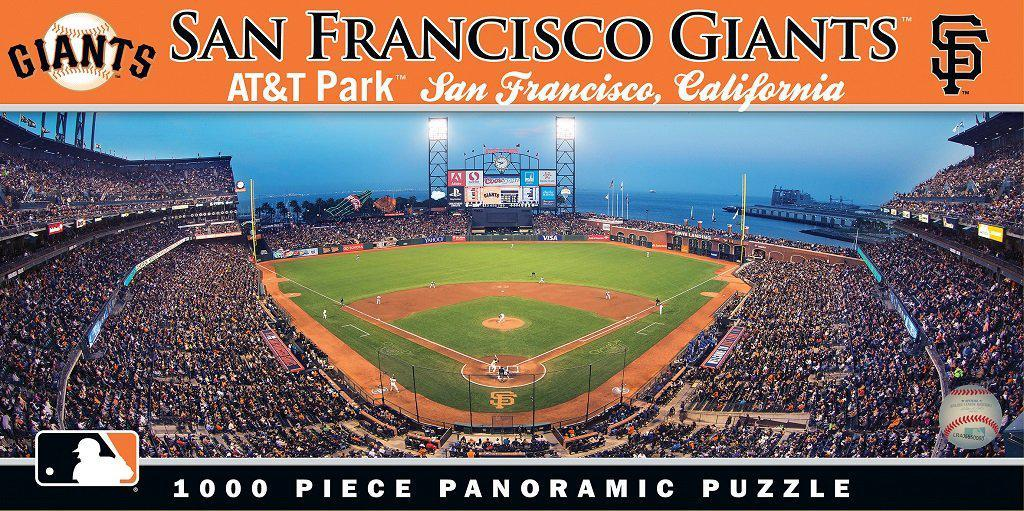 San Francisco Giants 1,000 Piece Panoramic Puzzle-Puzzle-MasterPieces Puzzle Company-Top Notch Gift Shop
