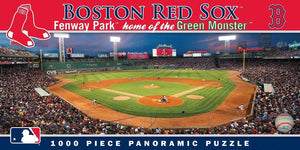 Boston Red Sox 1,000 Piece Panoramic Puzzle-Puzzle-MasterPieces Puzzle Company-Top Notch Gift Shop