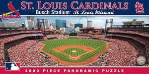 St. Louis Cardinals 1,000 Piece Panoramic Puzzle-Puzzle-MasterPieces Puzzle Company-Top Notch Gift Shop