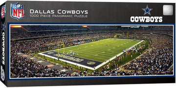 Dallas Cowboys Stadium 1,000 Piece Panoramic Puzzle