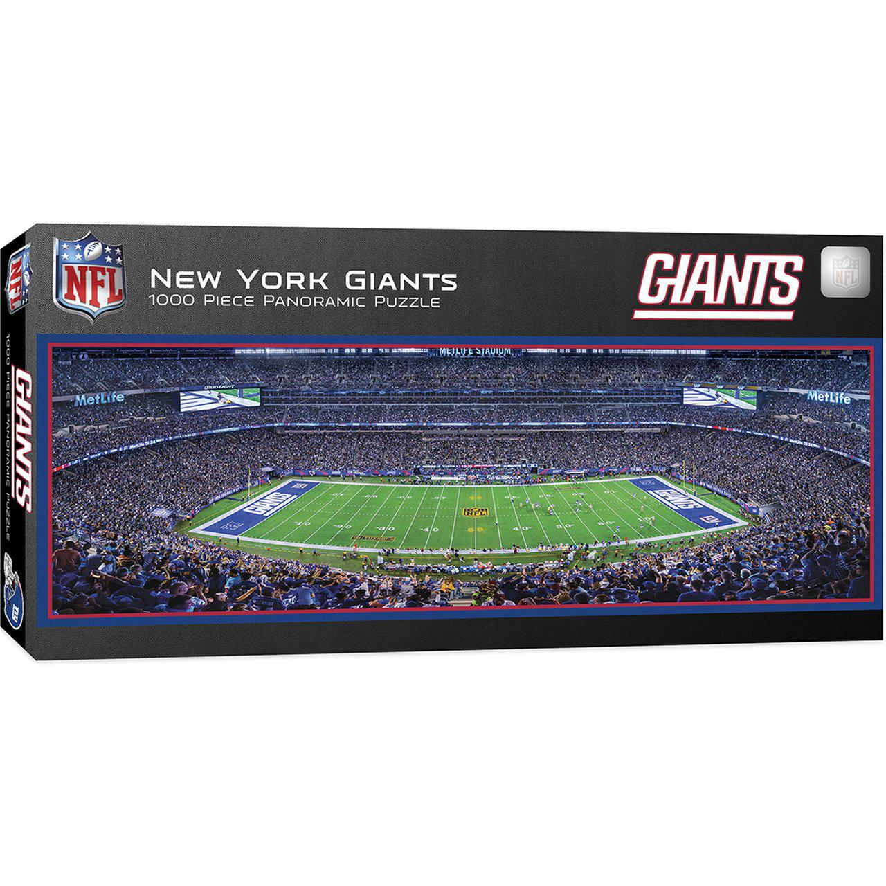 New York Giants 1,000 Piece Panoramic Puzzle-Puzzle-MasterPieces Puzzle Company-Top Notch Gift Shop
