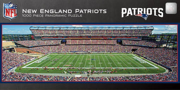 New England Patriots 1,000 Piece Panoramic Puzzle