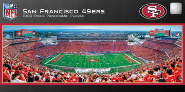 San Francisco 49ers 1,000 Piece Panoramic Puzzle