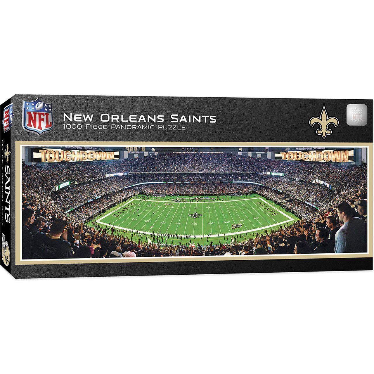 New Orleans Saints Stadium 1000 Piece Jigsaw Puzzle-Puzzle-MasterPieces Puzzle Company-Top Notch Gift Shop