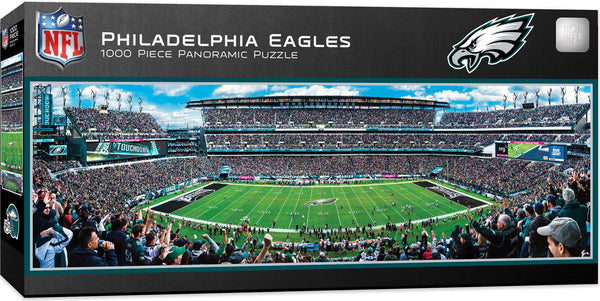Philadelphia Eagles Stadium 1000 Piece Jigsaw Puzzle-Puzzle-MasterPieces Puzzle Company-Top Notch Gift Shop