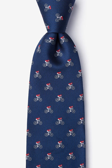 Spin Cycle 100% Silk Men's Cycling  Tie