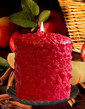 Apple Cinnamon Scented Hearth Candle-Candle-Warm Glow Candle Company-Top Notch Gift Shop
