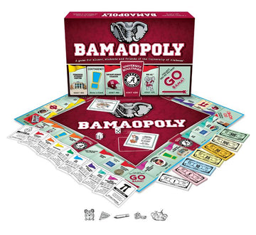 Bama-opoly - University of Alabama Monopoly Board Game